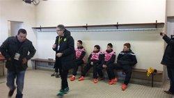 Les U15 ramasseurs de balle à la Beaujoire - LA FRANCE D'AIZENAY FOOTBALL