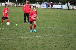 28/09/2014 - U7/U9/U11 - Mi-temps FCAGI vs Lalbenque Fontane - FC Agen-Gages