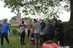 journée avec U18 + match contre roquefort - F.C Amollois