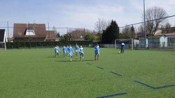U11(1) contre Tourcoing le 07.04.18 - FC-ANNOEULLIN