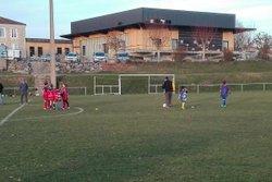 Entraînement des U11 - Football Club Atur