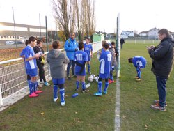 U13A FC UNGERSHEIM - FC BALDERSHEIM (1-1)(N° 1/2) - Football Club Baldersheim