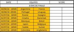 8ème de finale définitif - FOOTBALL CLUB DE LA COTE DES BLANCS