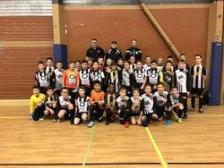 Tournoi Futsal Vertus U12-U13 du 07-01-2018 - FOOTBALL CLUB DE LA COTE DES BLANCS