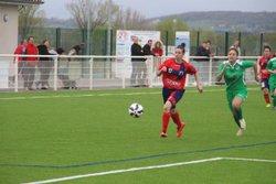 Seniors féminins. Eyrieux-Embroye bat Vesseaux 5 à 0 (1ère mi-temps) - FC EYRIEUX EMBROYE