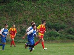 U18 contre Ognes - FC Frières