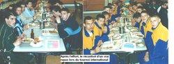 la convivialité d'un repas - FOOTBALL CLUB MADELEINOIS