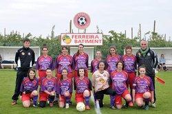 L'équipe Féminine lors de la saison 2015-2016 - Football Club Larnage-Serves
