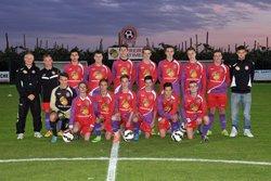 Les U17  saison 2015-2016 - Football Club Larnage-Serves