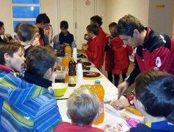 Gouter fin d'année U11 - Football Club du Mas Rillier