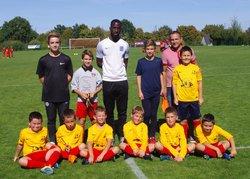 Plateau U11 2018 sept 15 Un nul & une défaite arbitrés par deux U15 du FCPC - FC PELLOUAILLES-CORZE