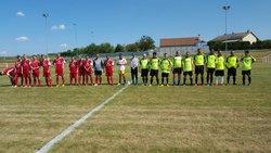 seniors en tournoi à Flétrange le 15 août 2016/ match contre Lixing. - Football Club de PORCELETTE