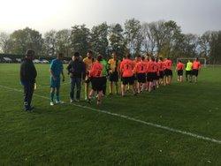 un beau match contre Tilly - Football Club du Val Dunois