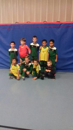 Tournoi U7 de Futsal à Sainte-Eulalie du 10/12/17 - Football Club d'Ambès