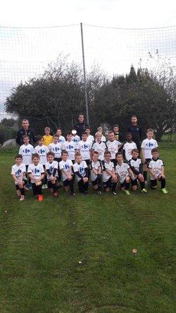 Photos équipes U11 - FC La Bazoge