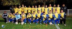 Groupe U17 - Saison 2015-2016 - Football Club de Bourg-Lès-Valence