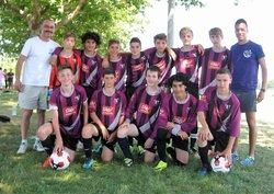 Tournoi de Fontenay le Comte : U15 - U13 & U11 - FOOTBALL  CLUB  BOUTONNAIS