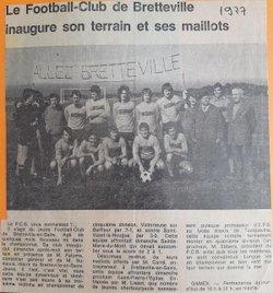 LA PRESSE ET LE FCB - BRETTEVILLE EN SAIRE FC