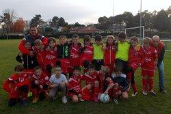 Challenge départemental U11 / Casteljaloux, le 19-11-16 - Football Club Casteljaloux