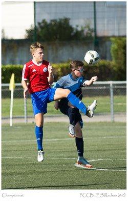 FCCB U15.1 - ES Le Rachais (9-0) - Football Club Crolles Bernin site officiel