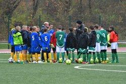 Samedi 11 novembre sous la pluie et le vent : U13 - U15 - SENIORS B - Football Club de champagnole
