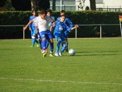 Dimanche 15 octobre 2017 : U15 FC Cheval-Blanc vs Cavaillon - FC Cheval-Blanc : Le Bleu et le Blanc sont nos couleurs