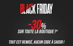 -30% sur toute la boutique, profitez du Black Friday !