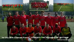 COUPE DE FRANCE 1ER TOUR - FOOTBALL CLUB DE ROSENDAEL