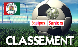 Classement seniors A dimanche 03/06 - FOOTBALL CLUB DE ROSENDAEL