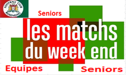 Planning seniors dimanche 25/03 ( Seniors , A , B , C , D ) - FOOTBALL CLUB DE ROSENDAEL