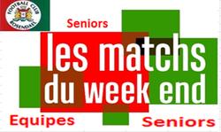 Planning seniors dimanche 10 juin - FOOTBALL CLUB DE ROSENDAEL