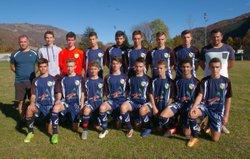 Luz / FC Neste 1 29/10/2016 coupe du Midi - FC des Nestes U17