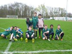 Criterium CE U13 samedi 18 mars à St Thibault. Une victoire 2-1 face à Ozoir, buteur : Yenni et un Nul face à St Thibault 2-2, buteurs : Thomas et Yenni - FC EMERAINVILLE
