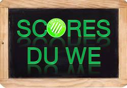 Les scores du WE