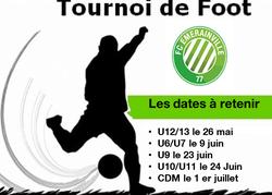Dates des tournois