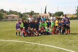 match amical FC FUVEAU  U9  contre  AS ROGNAC - FOOTBALL CLUB FUVEAU PROVENCE