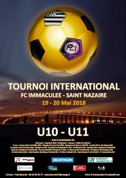 tournoi international 2017/18 - fcimmaculee