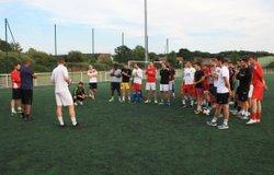 26-07-2017 - Deuxième entraînement pour les seniors du FCMMGV - FC Montfaucon Morre Gennes La Vèze