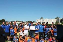 """REMISE LABEL JEUNES FFF """"ESPOIR"""" - FOOTBALL CLUB DE MORMANT"""