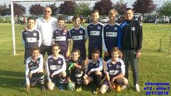 nos u13 A sont champions élite 1 !!! bravo les gars - Football Club du Nord Ouest