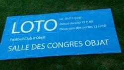 Grand loto - FC Objat