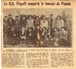 C A PLOGOFF - FOOTBALL CLUB PENN AR BED