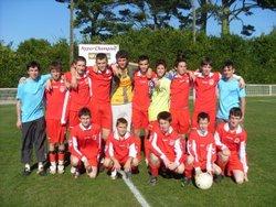 Saison 2008-2009  -15 ans - FOOTBALL CLUB DU PORZAY