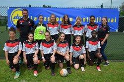 Finale coupe des Yvelines U16F - Football Club de la Région Houdanaise