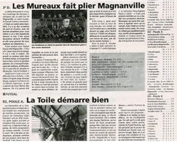 REVUE DE PRESSE - Football Club de la Région Houdanaise