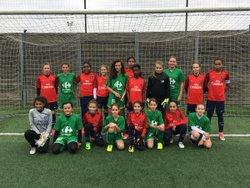 Rencontre U13 Féminines - FCRY / PSG - Samedi 18 novembre 2017 - FC Rambouillet Yvelines