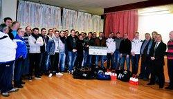 COUP D'ECLAT CREDIT AGRICOLE 05.02.16 - FOOTBALL CLUB DE SAINT CORNEILLE