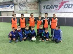 Reprise en futsall pour nos U8 U9 ! - FOOTBALL CLUB VALLEE DE LA DORDOGNE