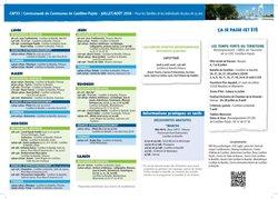 CAP 33 TOUR COMMUNAUTE DE COMMUNES CATILLON-PUJOLS