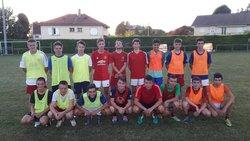 reprise entrainement U19 - FC VALLEE DE L'HIEN 38